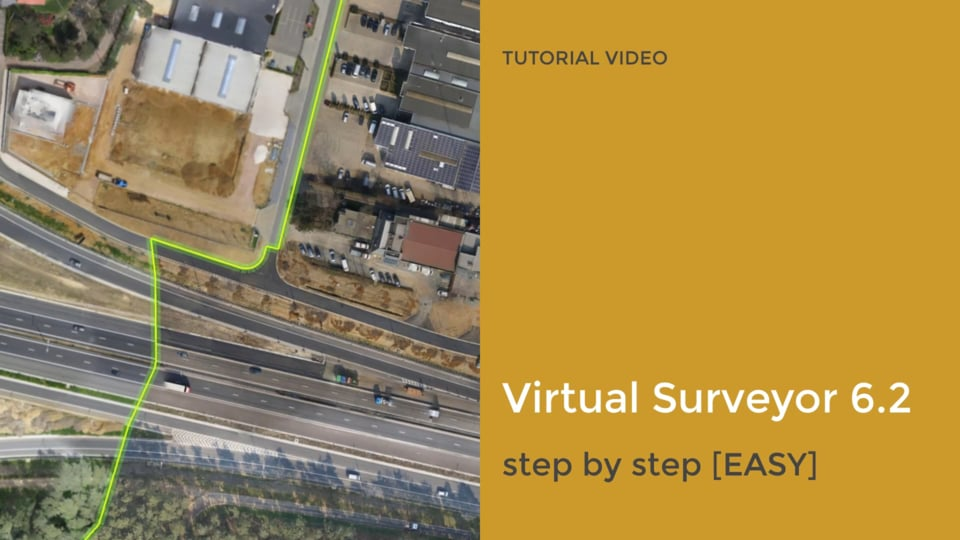 Tutorial videos on Virtual Surveyor